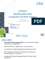 Android Chapter18A Reading XML Data