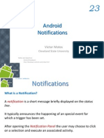 Android Chapter23 Notifications