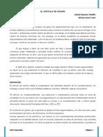 Final Articulo de Opinion Constitucion y Derechos Humanos