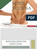 Espondilodiscitis infecciosa