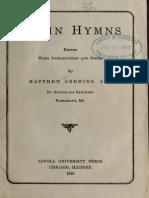Latin Hymns (1920)
