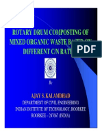 Presentacion Rotary Drum Composting of Mixed Organic
