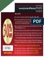 30% DiscountVoucherManuka_SD078864