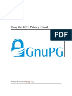 Using the GNU Privacy Guard, W. Koch, Version 2.0.21