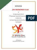 5th Kepong Open Taekwondo Championship 2014[1]