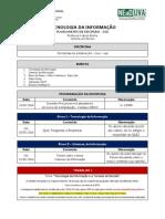 Ead Tecnologia Da Informacao 20141 Plano de Aula