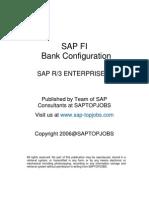 SAP FI Bank Configuration