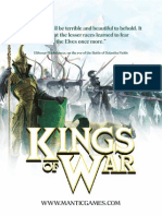 MG - Kings of War - Postcard