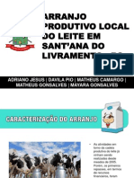 Arranjo Produtivo Local do Leite em Sant'ana do Livramento - RS