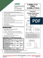 5.0SMLJ24A datasheet