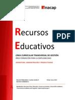 Recursos Educativos Capitulo 1 Organizaciones