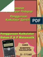 Penggunaan Calculator