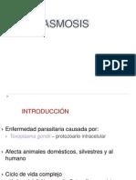 Toxoplasmosis 2014 Clase