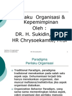 Handout Perilaku Organisasi dan Kepemimpinan