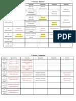 Horários Do 1º Semestre de 2014 GUILHERME-laiane