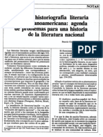 La Historiografía Literaria Latinoamericana (González Stephan)