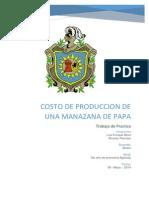 El presente trabajo provee información sobre los costos de producción de este cultivo.docx