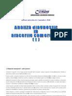 Analiza Diagnostic in Afaceri Comerciale