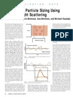 DLS Primer Dynamiclightscatteringbasics