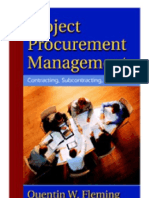 Project Procurement Management - Contracting, Subcontracting, Teaming -C