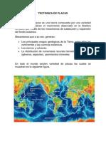 Tectonica de Placas Sismica2014 l