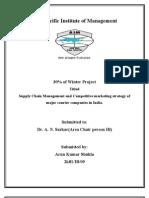 Bluedart Project | Logistics | Supply Chain