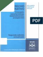 El Derecho Administrativo Pantoja Bauzá