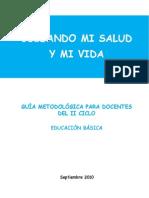 Guia Metodologica II Mi Salud y Mi Vida
