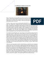 Art's Great Whodunit the Mona Lisa Theft of 1911