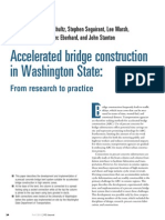 Accelerated Brideg Construction in Washington State