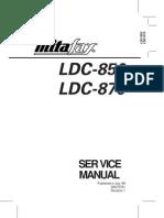 Service LDC850 870