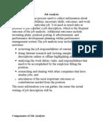 Job Analysis,position,worth