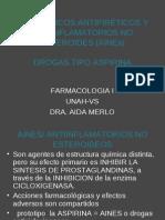 Analgésicos Antipiréticos y Antiinflamatorios No