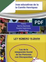 Normativas de La Escuela Camilo Henríquez