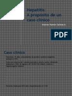 Hepatitis - Caso Clínico