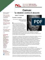 Camus- La Rebelión Contra El Absurdo