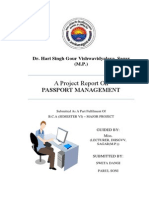 Passport Management System