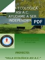 Villa Ecologica Asi Proyecto 2 Ya Listo