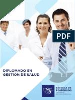 Brochure Gestion de Salud
