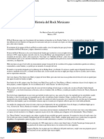 Historia Del Rock Mexicano - Por Marcos Ponce de León