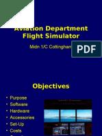 Aviation Department Flight Simulator