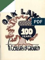 Oak Lawn 100 Years