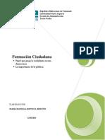 Formacion Ciudadana Ciudadania y Democracia