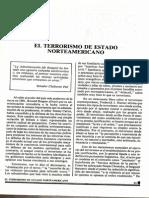 El Terrorismo Del Estado Norteamericano (1984d)