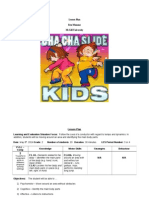 Cha Cha Slide Dance Party - PE Lesson Plan