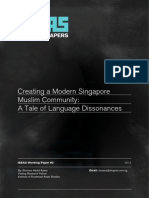 Creating a Modern Singapore Muslim Community