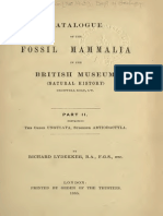 Catalogue of the Fossil Mammalia V02, Lydekker 1887