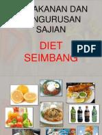 Pemakanan Dan Pengurusan Sajian