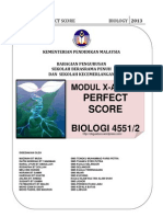 Perfect Score Dan Xa Plus Bio 2013