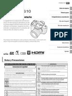 Fujifil -FPHS10 Spanish Manual